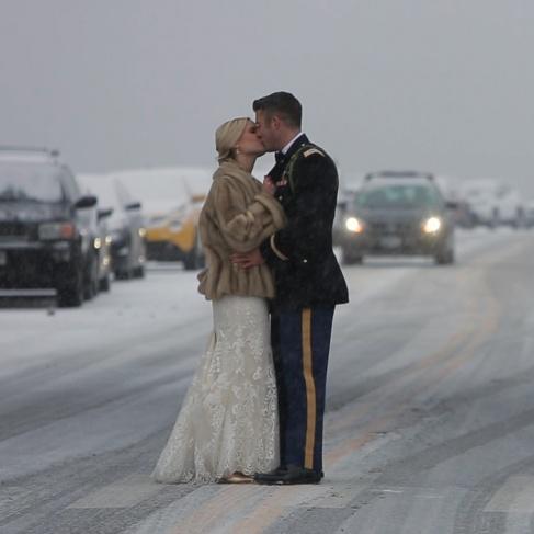 Wedding Snow Photography